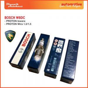 Proton Car Spark Plug Bosch W8DC 01