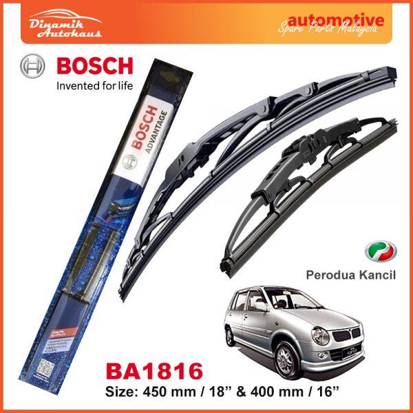 Bosch Wiper Blade BA1816 Perodua Kancil