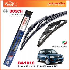 Bosch Wiper Blade BA1816 Perodua Kelisa