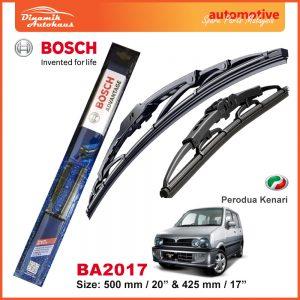 Bosch Wiper Blade BA2017 Perodua Kenari