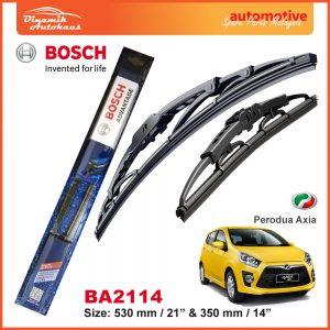 Bosch Wiper Blade BA2114 Perodua Axia