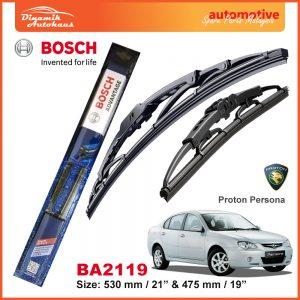 Bosch Wiper Blade BA2119 Proton Persona
