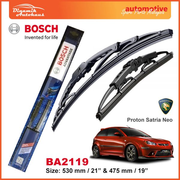 Bosch Wiper Blade BA2119 Proton Satria Neo
