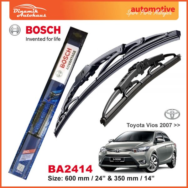 Bosch Wiper Blade BA2414 Toyota Vios 2007