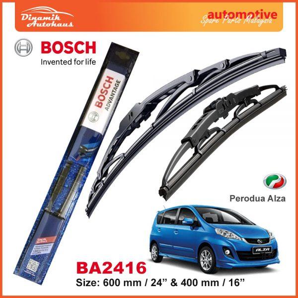 Bosch Wiper Blade BA2416 Perodua Alza
