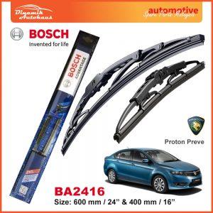 Bosch Wiper Blade BA2416 Proton Preve