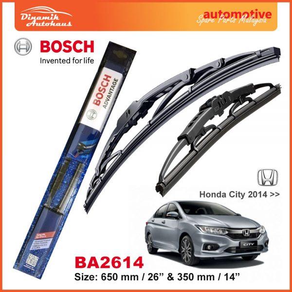 Bosch Wiper Blade BA2614 Honda City 2014
