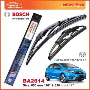 Bosch Wiper Blade BA2614 Honda Jazz 2014