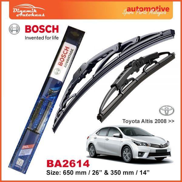 Bosch Wiper Blade BA2614 Toyota Altis 2008