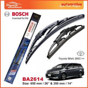 Bosch Wiper Blade BA2614 Toyota Wish 2008