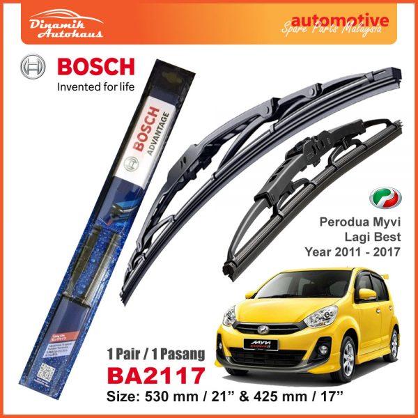 Bosch Wiper Blade BA2117 Perodua Myvi Lagi Best - Automotive Spare Parts Malaysia