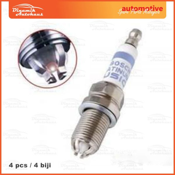 Bosch Platinum Fusion Spark Plug 01 | Automotive Spare Parts Malaysia