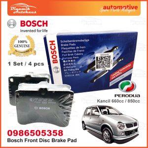 Perodua Kancil 660cc 850cc Front Wheel Bosch Disc Brake Pad 01 | Automotive Spare Parts Malaysia