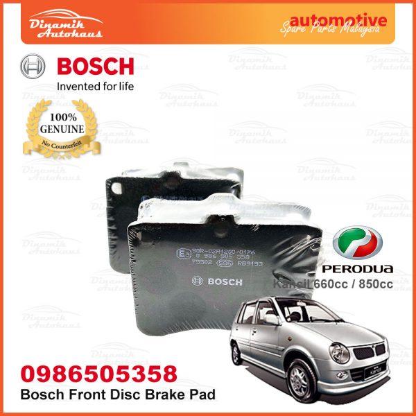Perodua Kancil 660cc 850cc Front Wheel Bosch Disc Brake Pad 03 | Automotive Spare Parts Malaysia