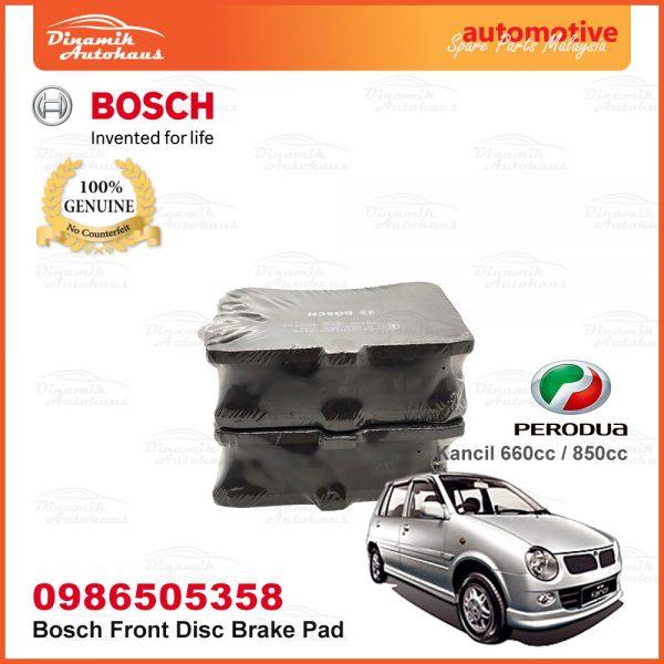 Perodua Kancil 660cc 850cc Front Wheel Bosch Disc Brake Pad 04 | Automotive Spare Parts Malaysia