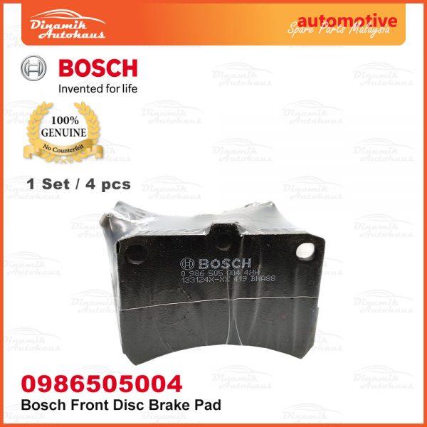 Perodua Kenari Kelisa Car Front Wheel Bosch Disc Brake Pad 03 | Automotive Spare Parts Malaysia
