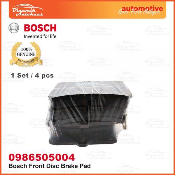 Perodua Kenari Kelisa Car Front Wheel Bosch Disc Brake Pad 04 | Automotive Spare Parts Malaysia