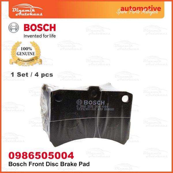 Perodua Kenari Kelisa Car Front Wheel Bosch Disc Brake Pad 05 | Automotive Spare Parts Malaysia