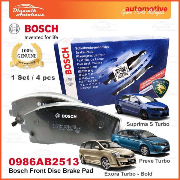 Proton Exora Turbo Bold Preve Suprima S Front Wheel Disc Brake Pad 01   Automotive Spare Parts Malaysia