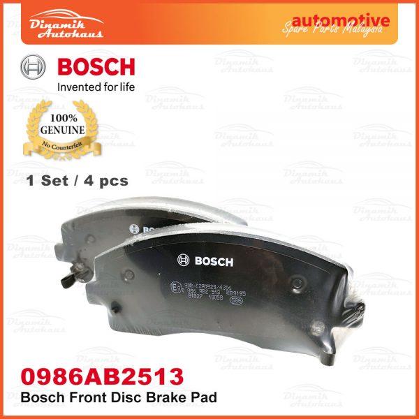 Proton Exora Turbo Bold Preve Suprima S Front Wheel Disc Brake Pad 03 | Automotive Spare Parts Malaysia