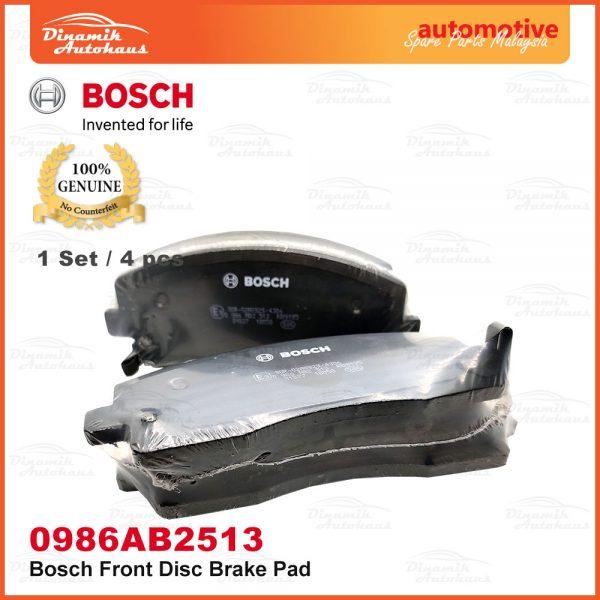 Proton Exora Turbo Bold Preve Suprima S Front Wheel Disc Brake Pad 06 | Automotive Spare Parts Malaysia