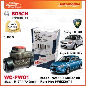 Proton Saga BLM FL FLX Savvy Rear Wheel Cylinder Brake Pump WC PW01 001 | Automotive Spare Parts Malaysia