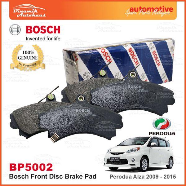 Perodua Alza Front Disc Brake Pad Bosch BP5002