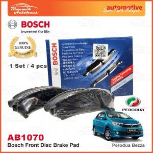Perodua Bezza Bosch Disc Front Brake Pad AB1070 1