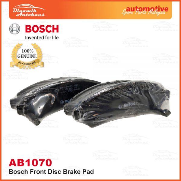 Perodua Axia Bosch Disc Front Brake Pad AB1070 02