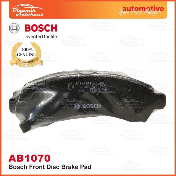 Perodua Axia Bosch Disc Front Brake Pad AB1070 03