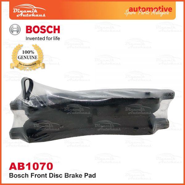 Perodua Axia Bosch Disc Front Brake Pad AB1070 04