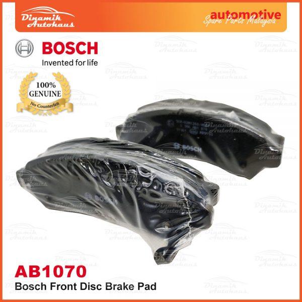 Perodua Axia Bosch Disc Front Brake Pad AB1070 05