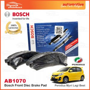Perodua Myvi Lagi Best Bosch Disc Front Brake Pad AB1070