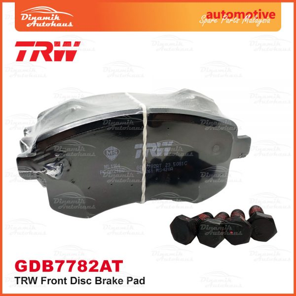 Proton Preve Suprima S Turbo CPE Exora CPS TRW Front Brake Pad 02