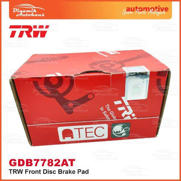 Proton Preve Suprima S Turbo CPE Exora CPS TRW Front Brake Pad 03