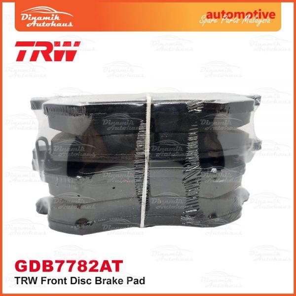 Proton Preve Suprima S Turbo CPE Exora CPS TRW Front Brake Pad 04