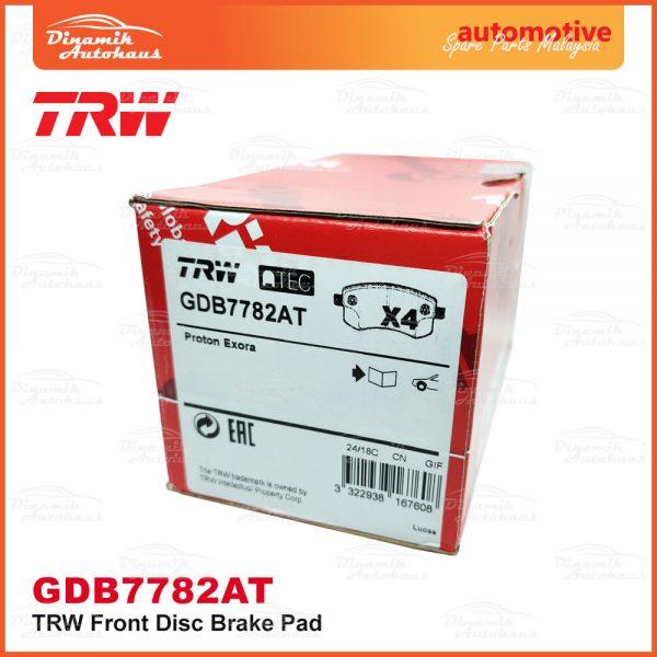 Proton Preve Suprima S Turbo CPE Exora CPS TRW Front Brake Pad 05