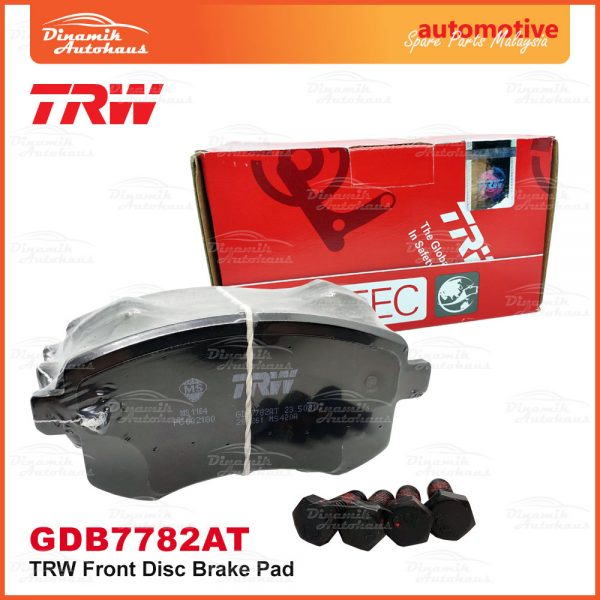 Proton Preve Suprima S Turbo CPE Exora CPS TRW Front Brake Pad 06