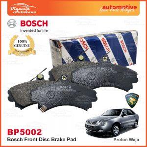 Proton Waja Front Disc Brake Pad Bosch BP5002